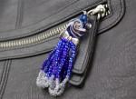 Handtaschenanhänhänger aus Perlen basteln