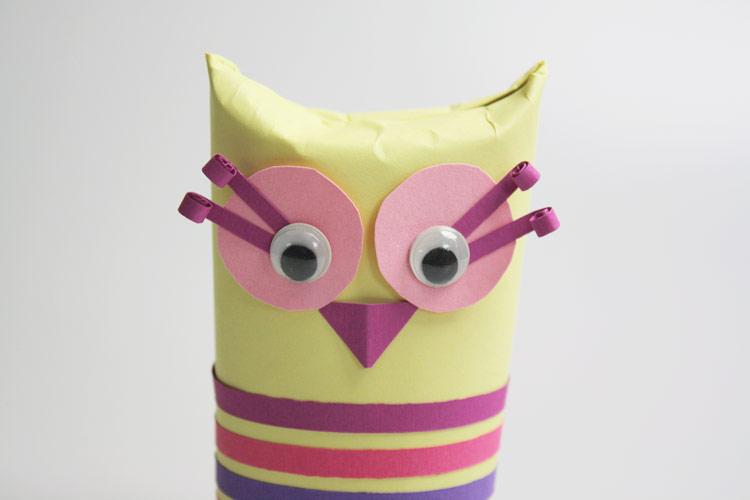Basteln Mit Toilettenpapierrollen basteln mit toilettenpapierrollen eule