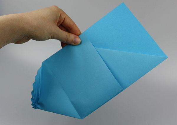 Brief Falten Rechteck : Alternative zur grußkarte brief schön falten