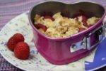 Himbeer-Crumble – Frucht mit Knusper