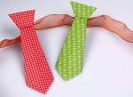 Krawatte falten