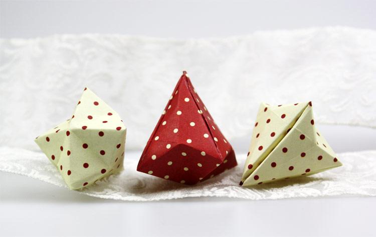 origami diamant. Black Bedroom Furniture Sets. Home Design Ideas