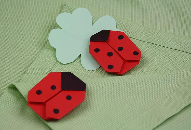 origami-marienkaefer1