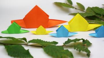 origami-schnecke