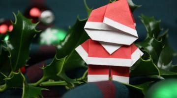 origami-weihnachtsmann