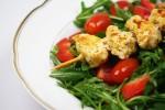 Salat mit Putenspieß
