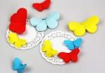 Schmetterlinge basteln aus Papier