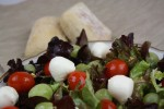 Sommersalat mit Trauben