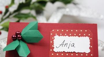 tischkarten weihnachten. Black Bedroom Furniture Sets. Home Design Ideas