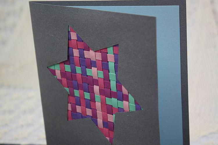 Weihnachtskarte basteln - Weihnachtskarten selbst gestalten vorlagen ...