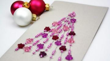 weihnachtskarte-mit-perlen-basteln