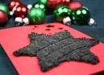 Weihnachtskarte mit Stern basteln
