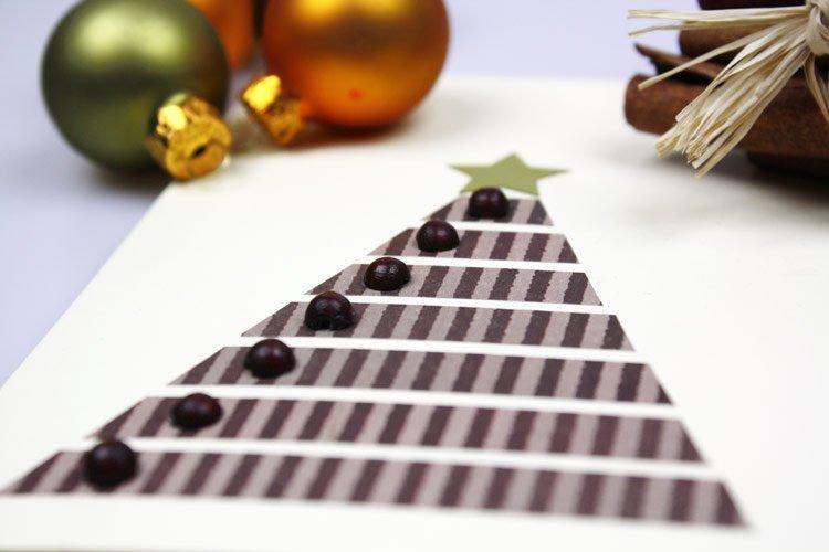 Weihnachtskarten basteln anleitung for Anleitung weihnachtskarten