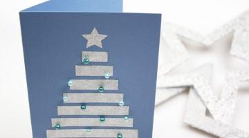 weihnachtskarten-basteln-ideen
