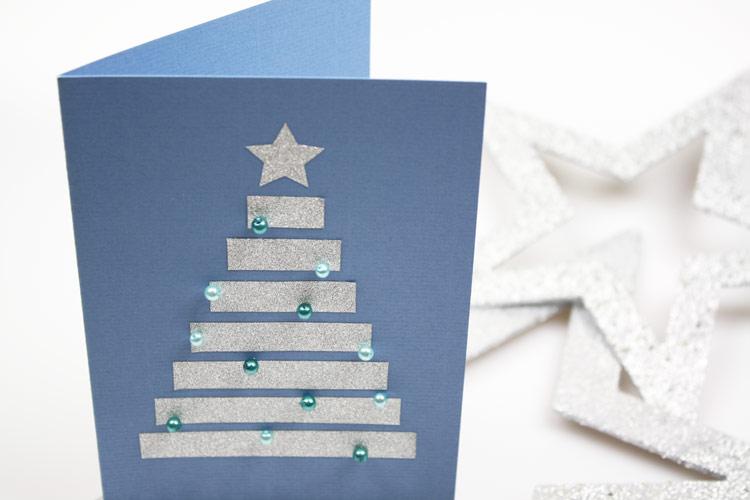 Weihnachtskarten Basteln Ideen