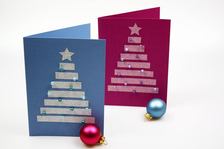 Weihnachtskarten basteln ideen for Ideen weihnachtskarten basteln