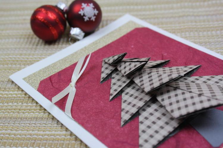 Weihnachtskarten selber basteln for Anleitung weihnachtskarten